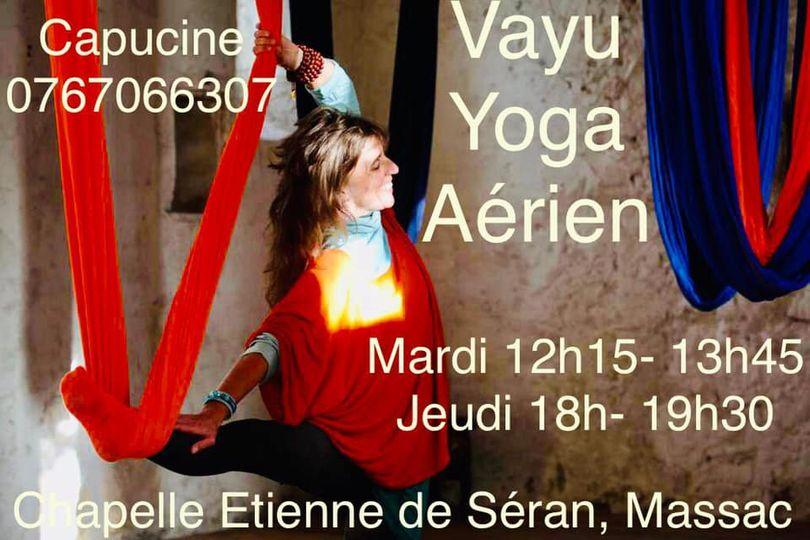Bonjour à tous, les cours de Vayu Yoga à Massac-Séran, sont maintenus la deuxième semaines des vacances de Toussaint du 2 au 5 novembre, pas de cours la première semaine (du 25 au 29 octobre) Merci…