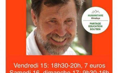 Dr Jacques Vigne à la chapelle Etienne de Séran, du vendredi 15 octobre au dimanche 17 octobre Contact : Capucine 0767066307